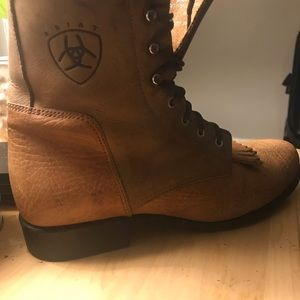 Ariat - vintage rope style - cowboy boots